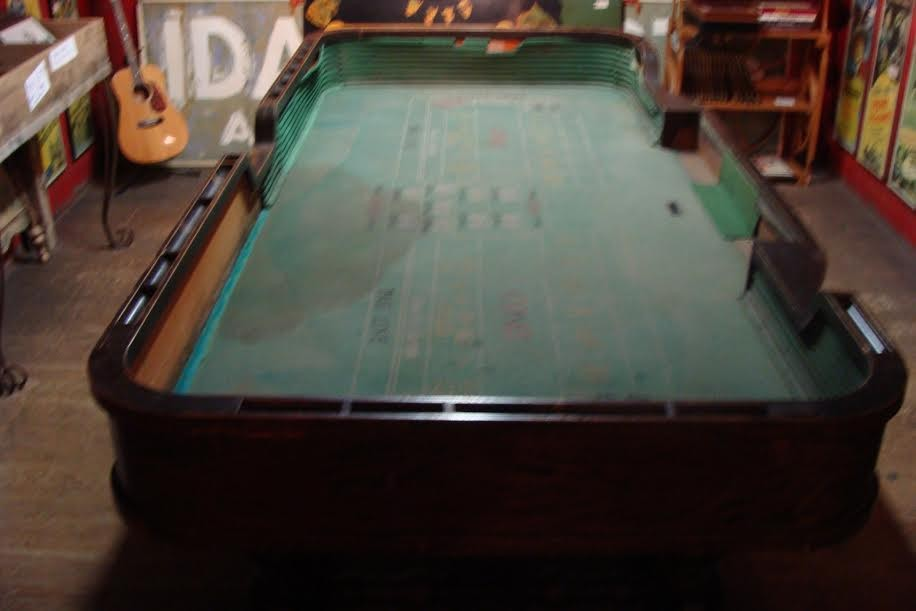 1890's Craps Table from the Old West