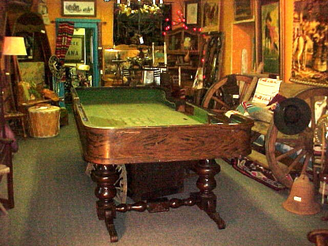 100 Year Old Craps Table
