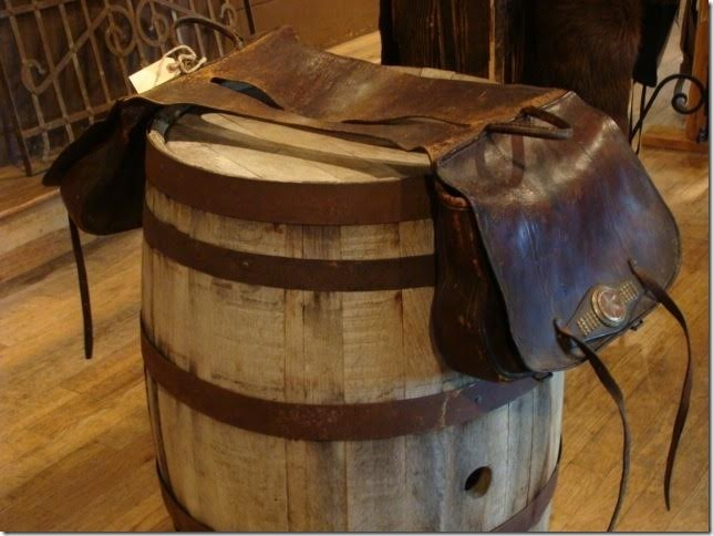 1900's Texas Heavy Leather XL Saddlebags