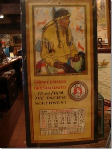 Original 1930's Calendar