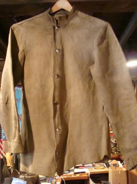 "1900's Buckskin ""Scout Shirt""  SOLD"