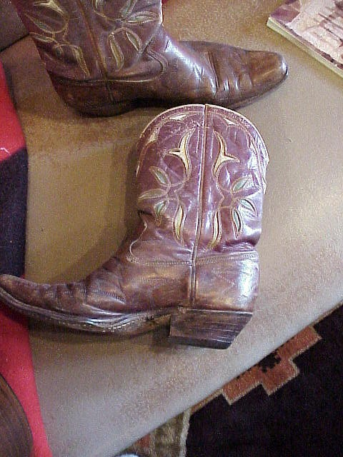 1920's-30s Vintage Collectible Cowboy Boots