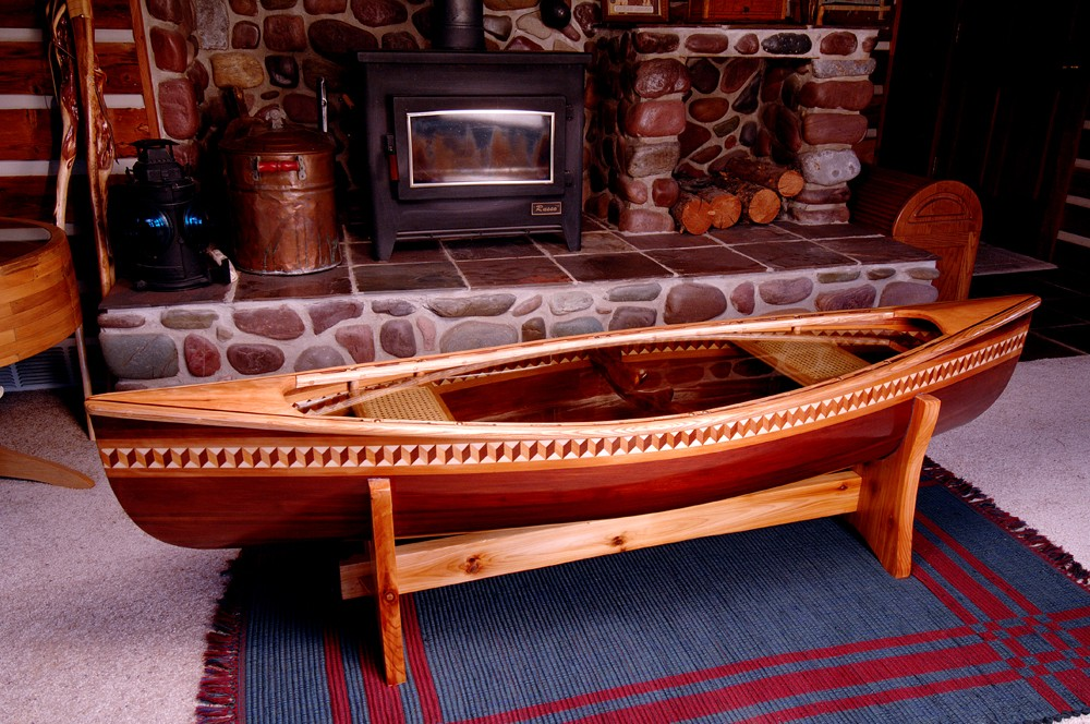 6ft Canoe Coffee Table