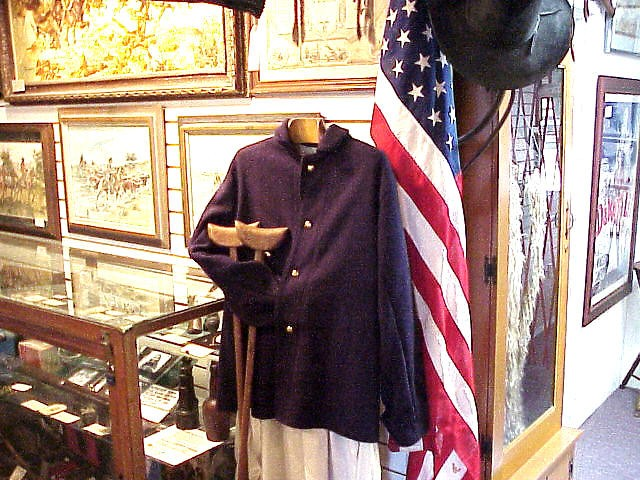 Warner Brothers Civil War Uniform