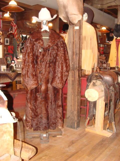 19th Century Full Length Bear Coat