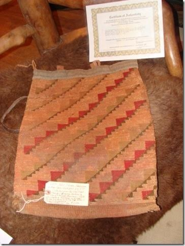 1870 Nez Perce Nation Corn Husk Bag