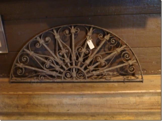 19th Century Decorative Iron Architectural Piece