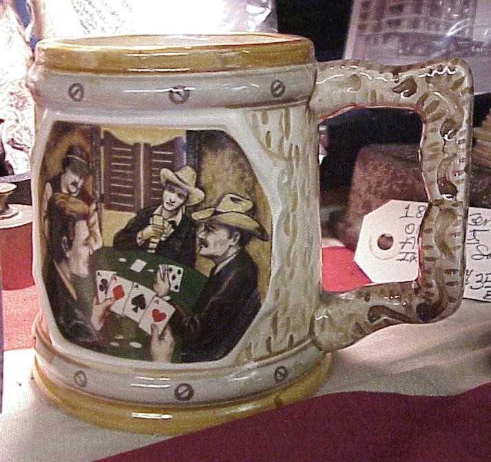 Gambling Cowboys Mug