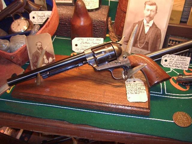 1885 S.A. Army  Colt .45 Caliber U.S. Calvary Revolver