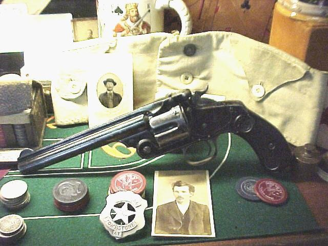 1880 Smith & Wesson .44 caliber  Model No.3 Russian Center Fire