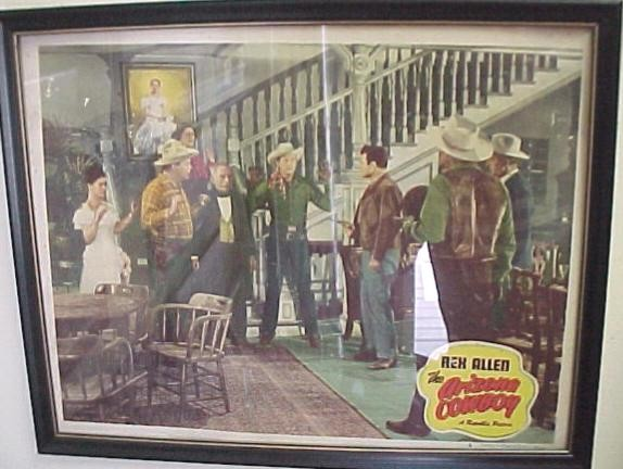 "Original Lobby Card Rex Allen ""The Arizona Cowboy"""