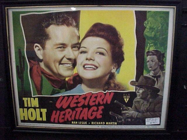 Original LC Tim Holt Western Heritage
