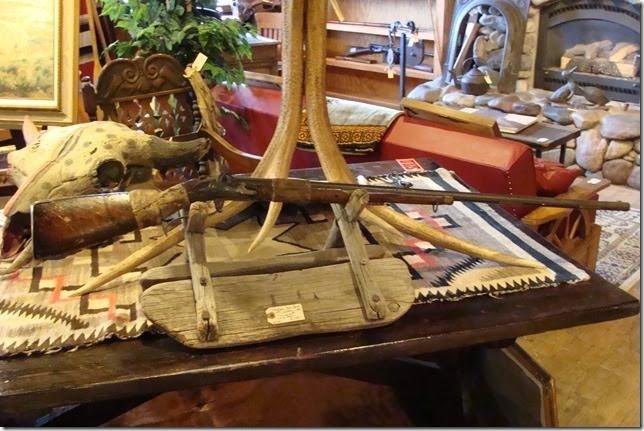 Indian War Period Musket Long Rifle