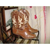 1920's-30s Vintage Collectible Cowgirl Boots