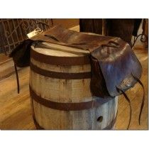 1900's Texas Heavy Leather XL Saddlebags