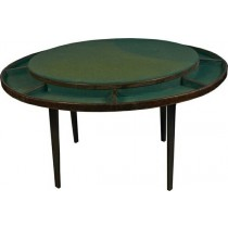 Early1900's Round Poker Table