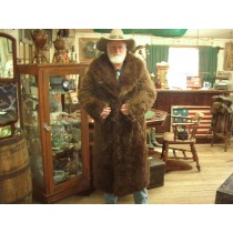 19th Century Genuine Old West Buffalo Coat
