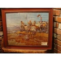 "1922 Painting - ""The Smoke Signal"""