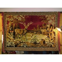 1930's-40's Elk Tapestry - Sold