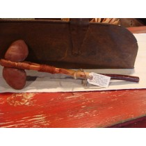 Blackfeet Nation Stone Hickory Handle Club
