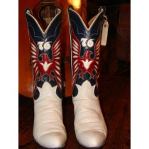 1976 Tony Lama Bicentennial Eagles Cowgirl Boots