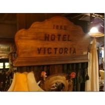 1865 Hotel Victoria Decor Sign