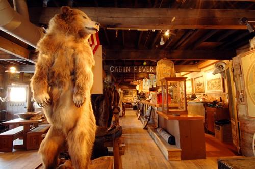 Cowboy Cabin Bear
