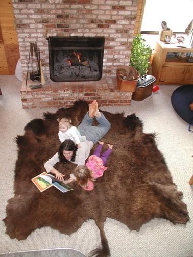 Buffalo Robe approx 50sq feet Winter Coat BT/NA