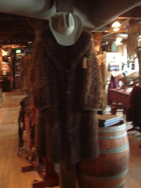 19th Century XL Buffalo Coat
