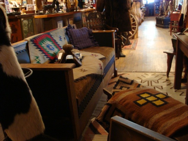 Various antiques To Choose from in Cowboy Cabin