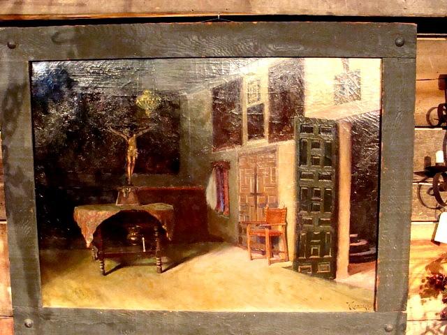 1891 Sacristia de Convento del Churubusco F.Conejo