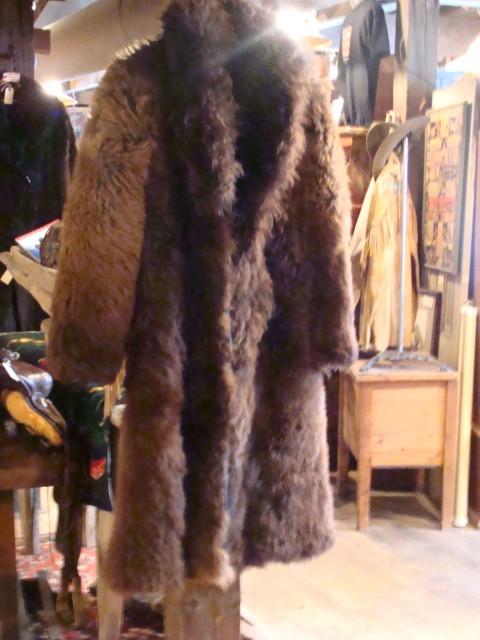 19th Century XXL Buffalo Coat