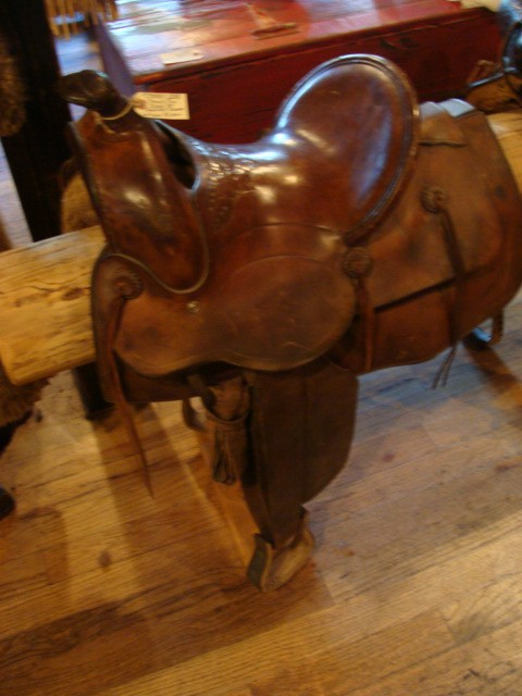 19th Century Connolly Bros. Montana Saddle High back w/Square Skirt