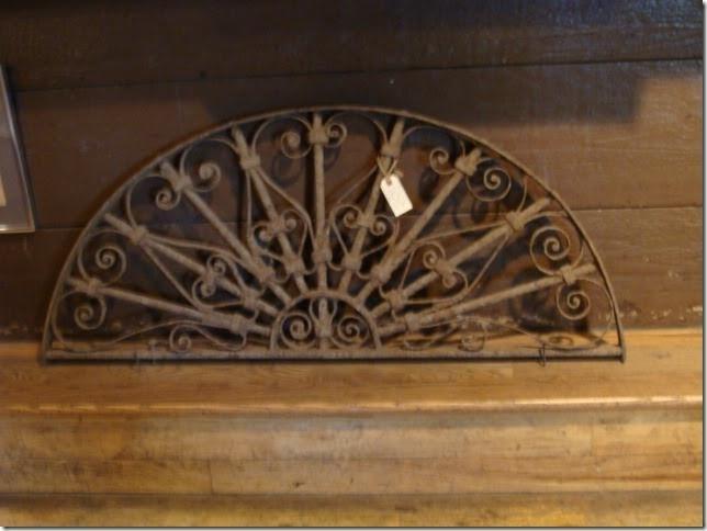 19th Century Decorative Iron Architectural Piece