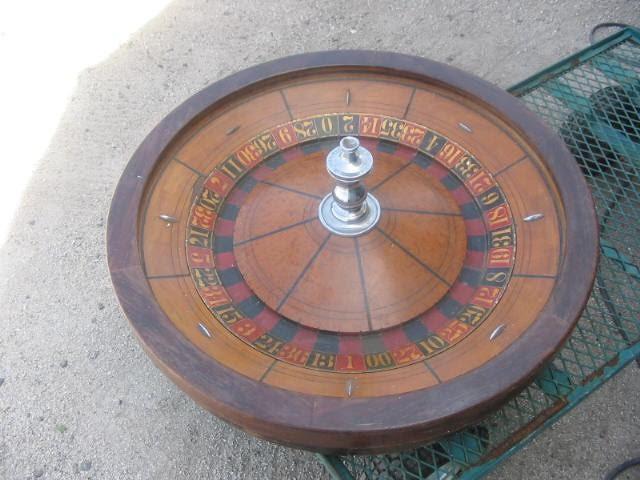 19th Century Roulette Wheel