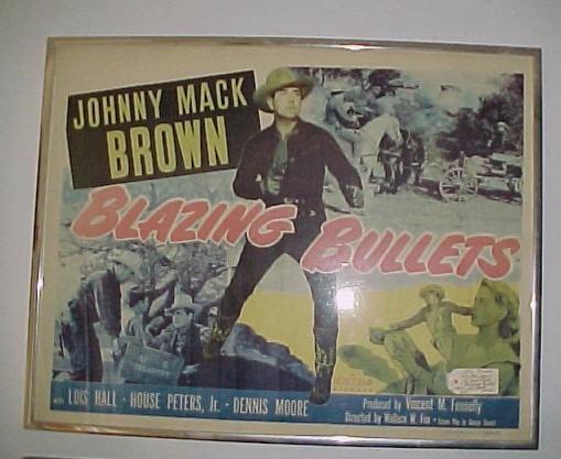 Original Johnny Mack Brown in Blazing Bullets