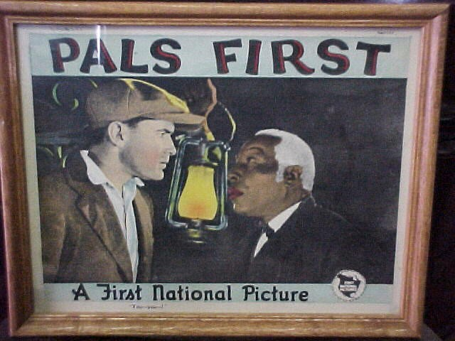 """Motion picture Lobby Card """"First National Pictures""""/""""Pals First"""""""