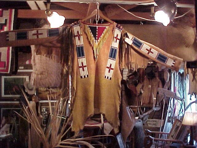 1950's Beaded Sioux War Shirt