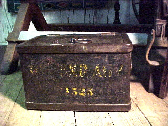 Genuine 1880's Wells Fargo Strong Box