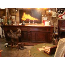 19th Century Old West Saloon Bar   SOLD