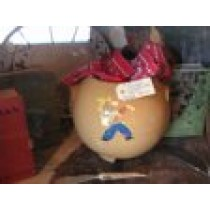 1950's Vintage Cowboy Cookie Jar Cowboy (No Lid)