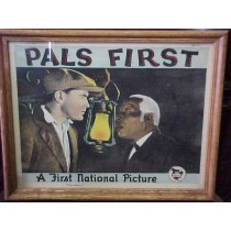 "Motion picture Lobby Card ""First National Pictures""/""Pals First"""