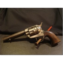 1874 Colt S.A.Army .45 cal. Artillery Model belonged to Elmer J. Weich (Musician) Bugler Spanish American War